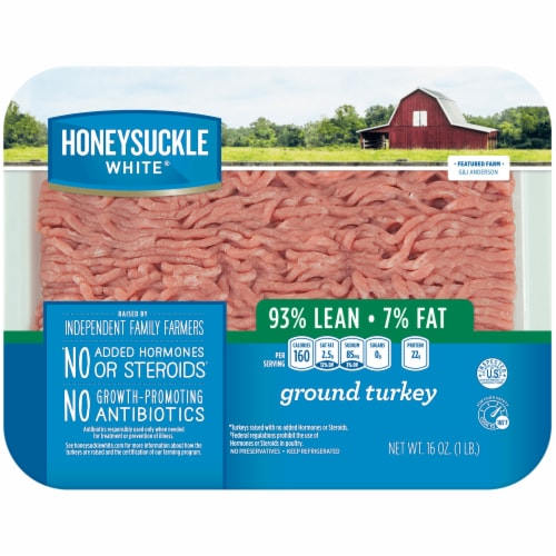 Honeysuckle White Ground Turkey Perspective: front