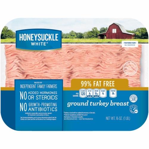 Honeysuckle White Ground Turkey Breast Perspective: front