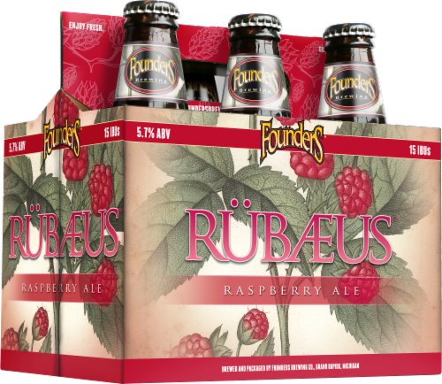 Founders Brewing Rubaeus Pure Raspberry Ale Perspective: front