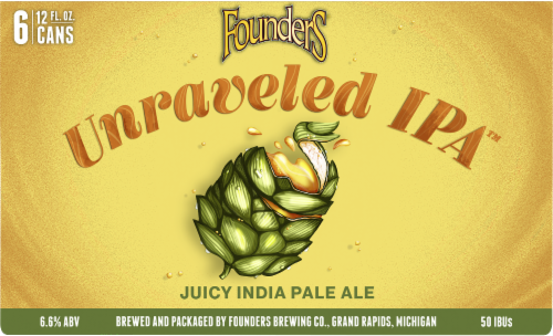 Founders Brewing Unraveled PA Perspective: front