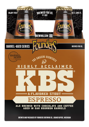 Founders Brewing KBS Espresso Stout Beer Perspective: front