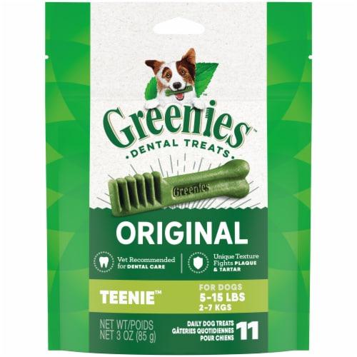 Greenies Original Teenie Dog Dental Treats Perspective: front