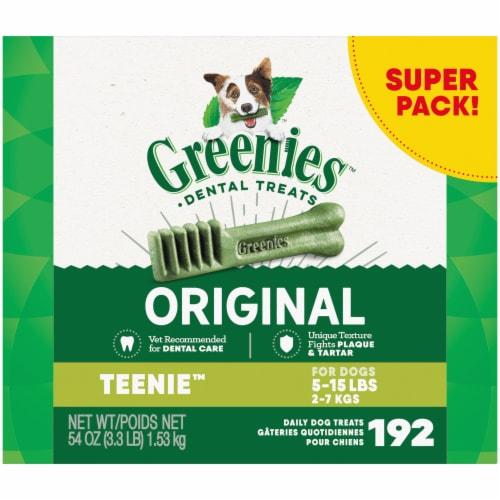Greenies Original Teenie Dental Treats Perspective: front