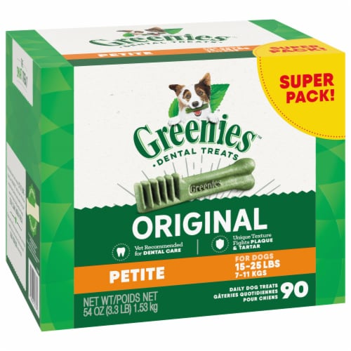 Greenies Original Petite Dental Treats Perspective: front