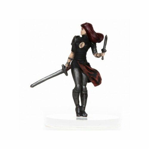 Role 4 Initiative Characters of Adventure Female Human Blademaster Perspective: front