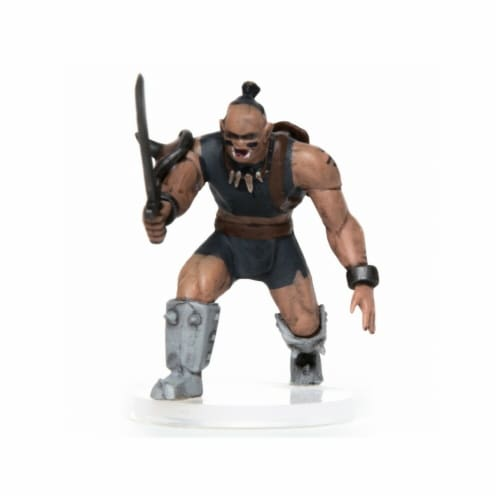 Role 4 Initiative R4I60014-PC Characters of Adventure Male Orc Warrior Miniature Perspective: front