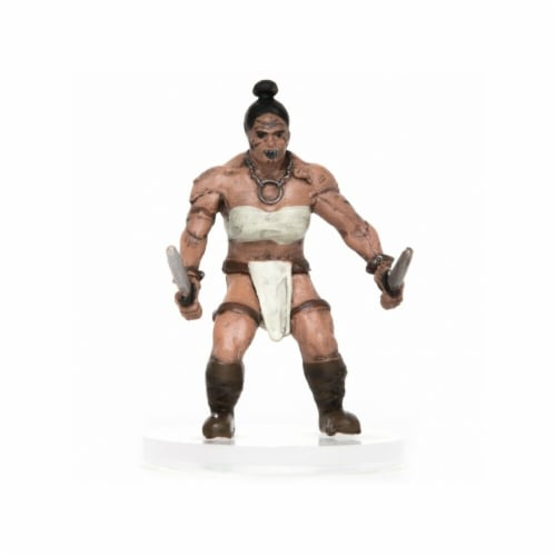 Role 4 Initiative Characters of Adventure Female Orc Eviscerator Miniature Perspective: front