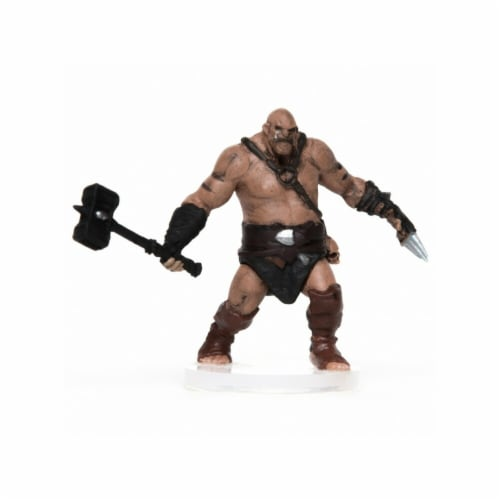 Role 4 Initiative Characters of Adventure Male Orc Battlemaster Miniature Perspective: front
