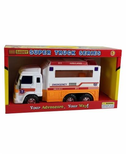 Big Daddy EMT Ambulance Truck Perspective: front