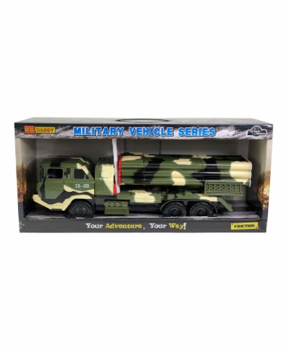 Big Daddy Multi-Missile Military Truck Perspective: front
