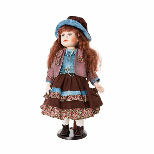 Copa Judaica 275D Island Porcelain Doll Collection - Sharon Perspective: front