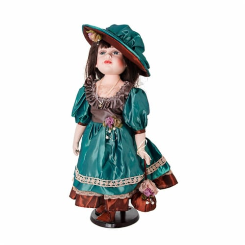 Copa Judaica 276D Island Porcelain Doll Collection - Abigail Perspective: front