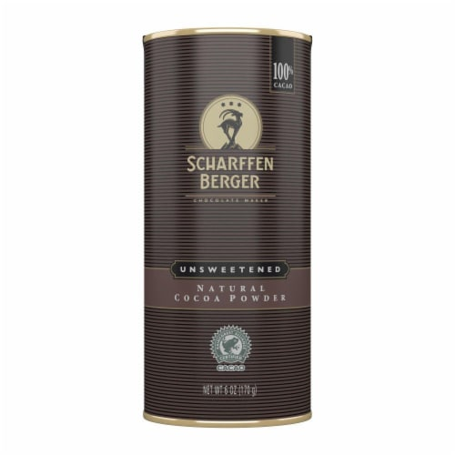 Scharffen Berger Natural Unsweetened Cocoa Powder Perspective: front