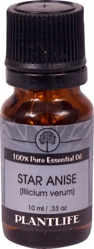 Plantlife 100% Pure Essential Oil Star Anise Perspective: front