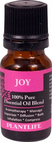 Plantlife 100% Pure Essential Oil Blend Joy Perspective: front