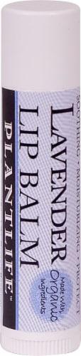 Plantlife Lavender Lip Balm Perspective: front