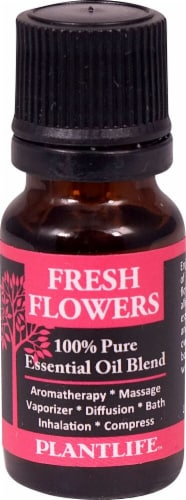 Plantlife 100% Pure Essential Oil Blend Fresh Flowers Perspective: front