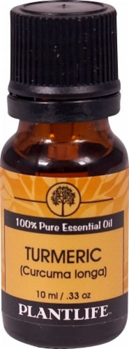 Plantlife 100% Pure Essential Oil Turmeric Perspective: front