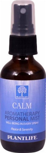 Plantlife Calm Aromatherapy Personal Mist Perspective: front