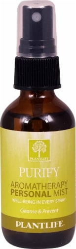 Plantlife Purify Aromatherapy Personal Mist Perspective: front