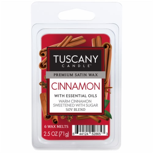 Tuscany Candle Cinnamon Wax Melts Perspective: front