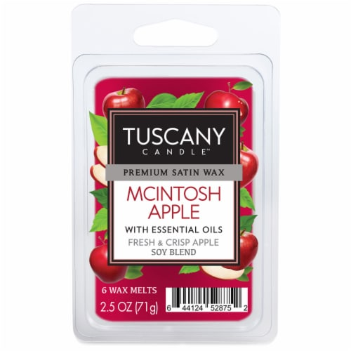 Tuscany Candle Mcintosh Apple Wax Melts Perspective: front