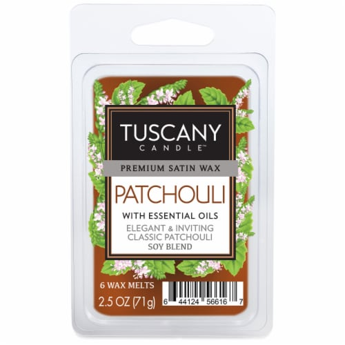 Tuscany Candle Patchouli Wax Melts Perspective: front