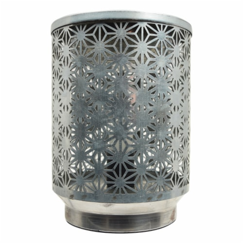 Tuscany Galvanized Metal Wax Warmer Perspective: front