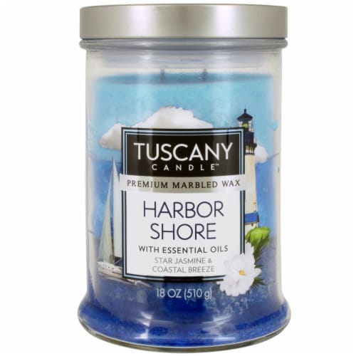 Tuscany Candle Harbor Shore Scented Jar Candle Perspective: front