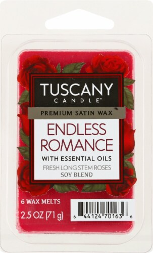 Tuscany Candle Endless Romance Scented Wax Cubes Perspective: front