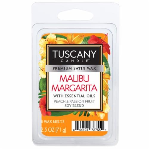 Tuscany Candle Malibu Margarita Wax Melts Perspective: front