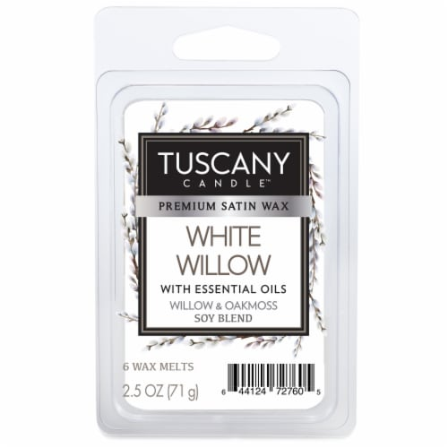 Tuscany Candle White Willow Wax Melts Perspective: front