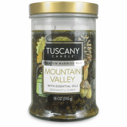 Tuscany Limited Edition Scented Candle - Mountain Valley Perspective: front