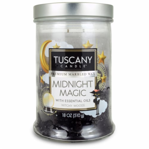 Tuscany Limited Edition Scented Candle - Midnight Magic Perspective: front