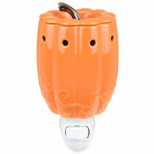 Tuscany Ceramic Autumn Pumpkin Wax Warmer - Outlet Perspective: front