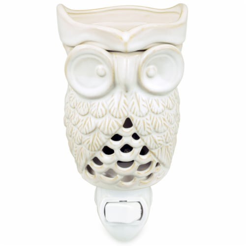 Tuscany Ceramic Woodland Owl Wax Warmer - Outlet Perspective: front