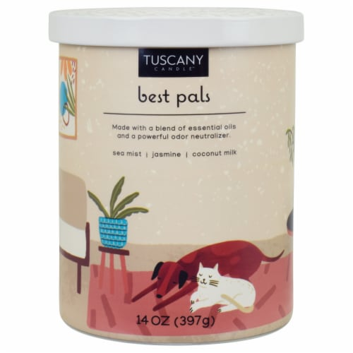 Tuscany Candle™ Best Pals Pet Candle Perspective: front