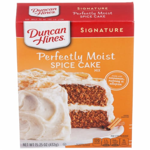 Duncan Hines Signature Spice Cake Mix Perspective: front
