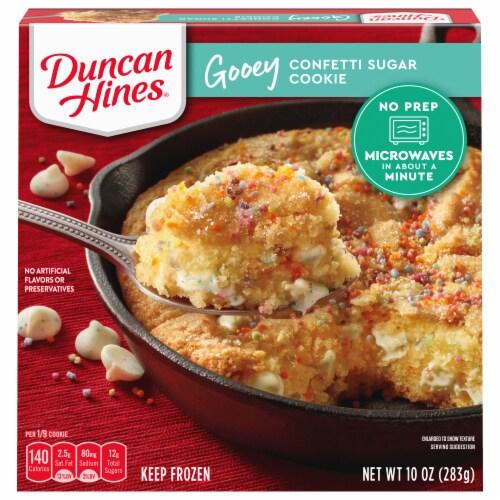 Duncan Hines Gooey Confetti Sugar Cookie Frozen Dessert Perspective: front