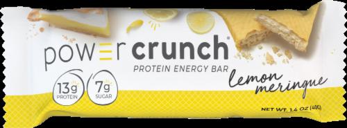 Power Crunch Lemon Meringue Original Protein Energy Bar Perspective: front