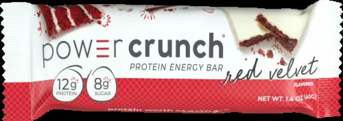 Power Crunch Red Velvet Original Protein Energy Bar Perspective: front