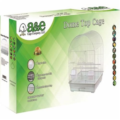 A&E Cage 644135 18 x 18 in. Round Top Cage Perspective: front