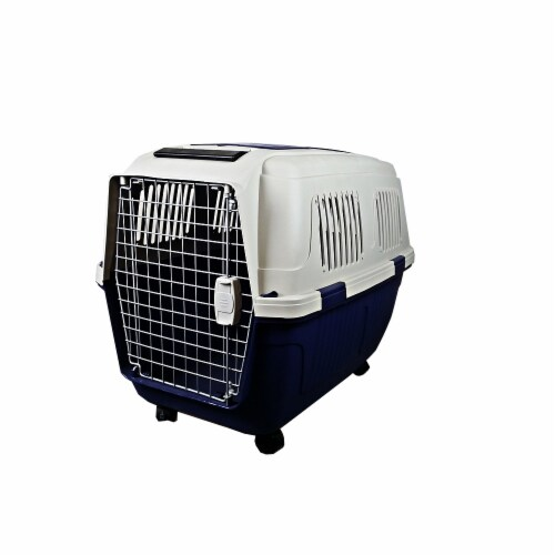 A&E Cage CD5 Assorted 28 x 21 x 20 in. Deluxe Pet Carriers, Assorted Color Perspective: front