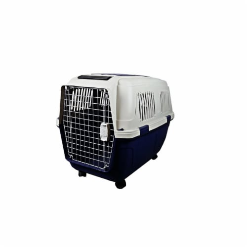 A&E Cage CD8 Assorted 40 x 29 x 30 in. Deluxe Pet Carriers, Assorted Color Perspective: front