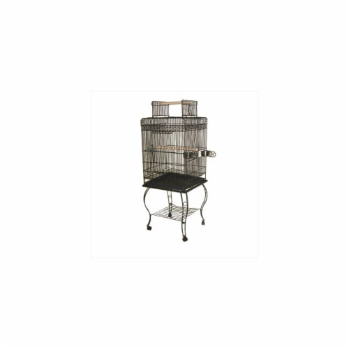 A&E Cage 600H Platinum Economy Play Top Cage Perspective: front