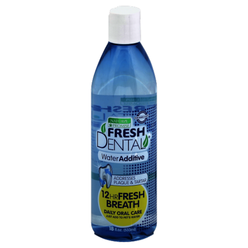 Naturel Promise Fresh Dental Water Additive Pet Oral Care Perspective: front