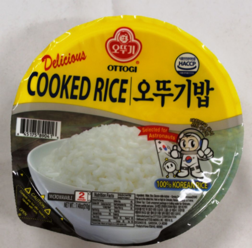 Ottogi Cooked Rice Perspective: front