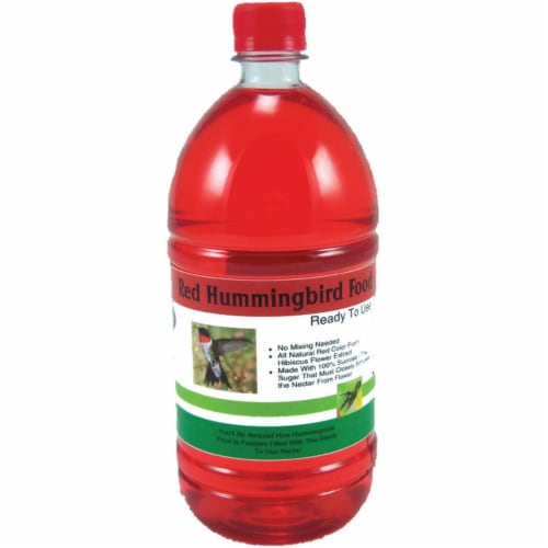 Songbird Essentials SE632 32 oz.Ready To Use Hummingbird Nectar - Red Perspective: front