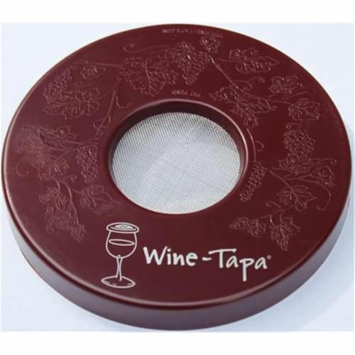 Wine-Tapa WTMERLOT Wine Glass Cover, Merlot Perspective: front