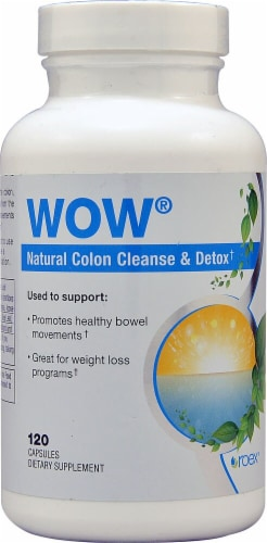 Roex  WOW Natural Colon Cleanse & Detox Perspective: front